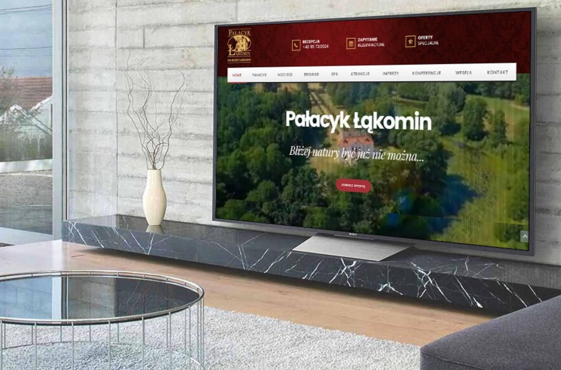 ROAN24 Łąkomin Palace Site web
