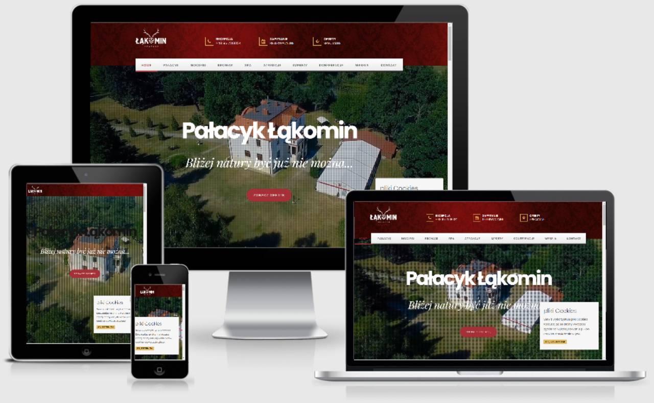 ROAN24 Palace Łąkomin Réactivité du site Web
