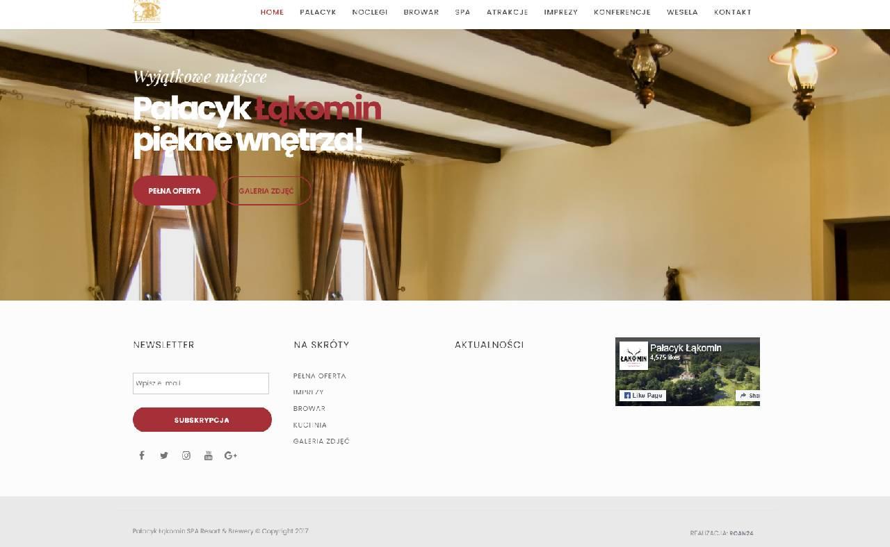 ROAN24 Łąkomin Palace Home Page