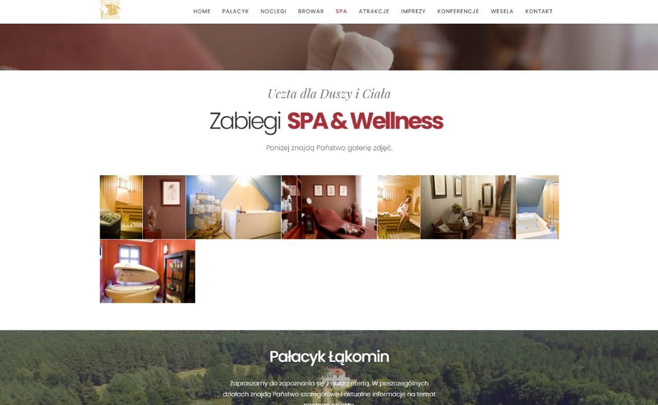 Site web du ROAN24 Palace Łąkomin SPA