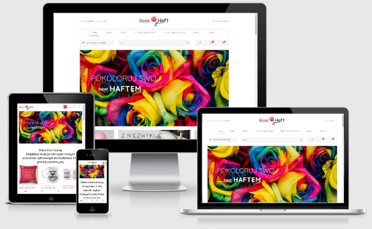 ROAN24 Réactivité de la boutique en ligne de broderie de roses
