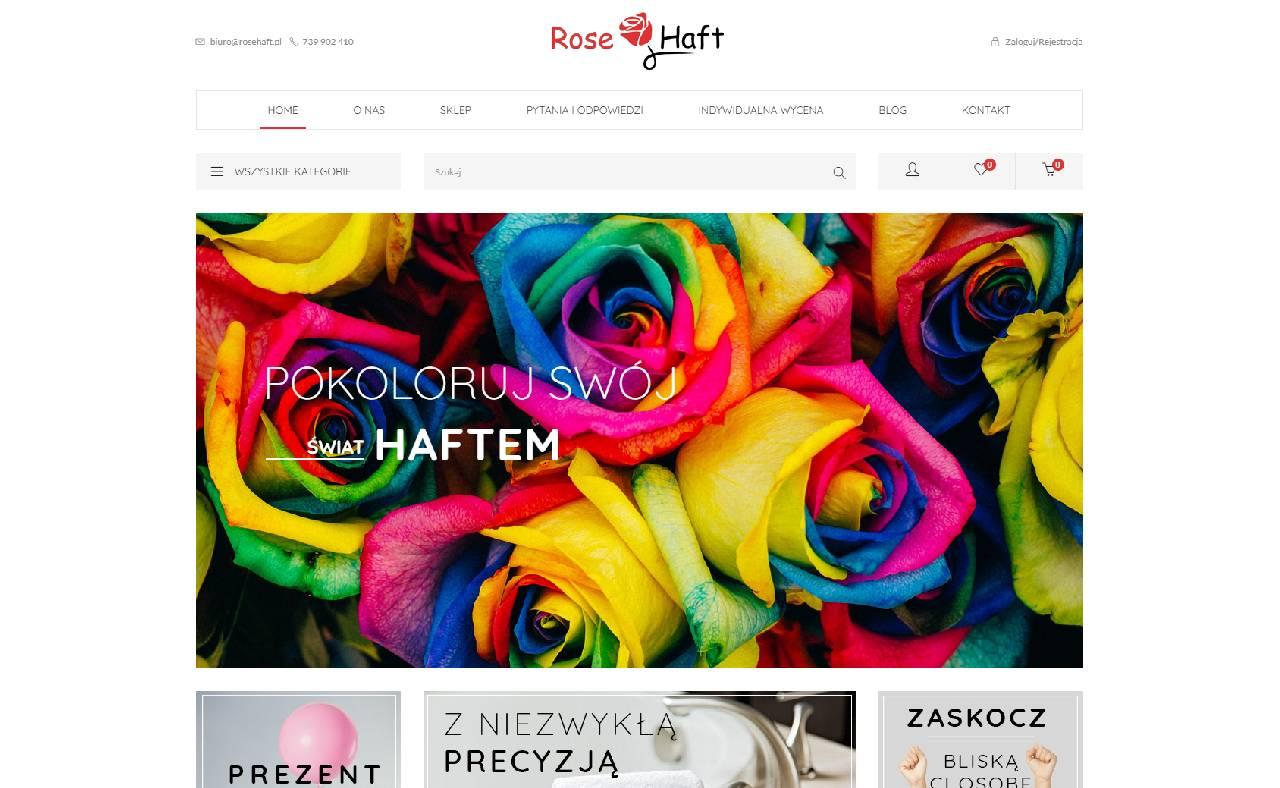 ROAN24 Boutique en ligne de broderie de roses HOME