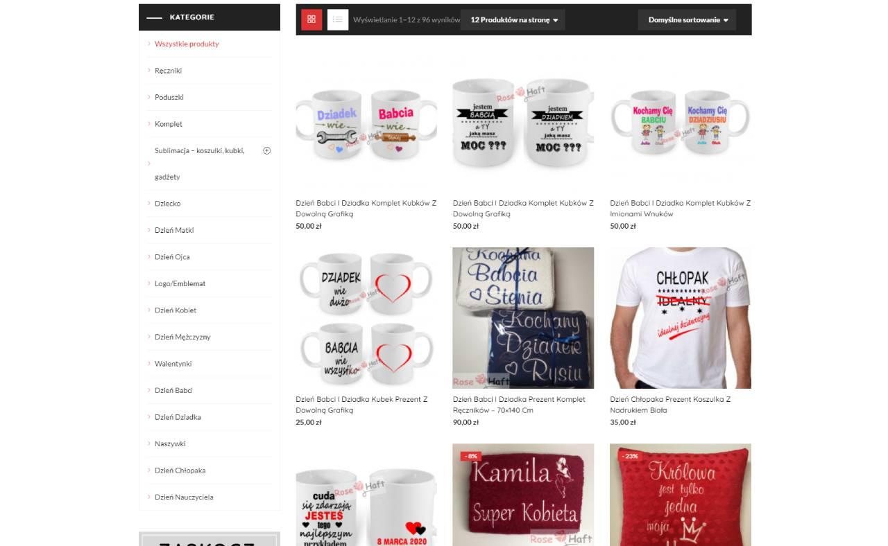 ROAN24 Boutique en ligne de broderie de roses